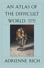 An Atlas of the Difficult World – Poems 1988–1991 (Paper)