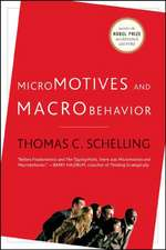 Micromotives and Macrobehavior revised