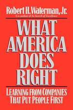 What America Does Right: Learning from Companies That Put People First