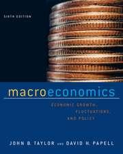 Macroeconomics 6e ISE