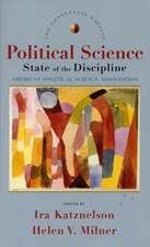Political Science – State of the Discipline