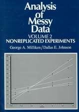 Analysis of Messy Data