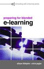 Preparing for Blended E-Learning