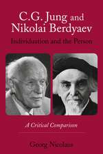 C.G. Jung and Nikolai Berdyaev