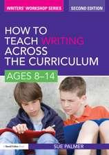 How to Teach Writing Across the Curriculum