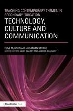 Technology, Culuture and Communication