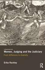 Women, Judging and the Judiciary
