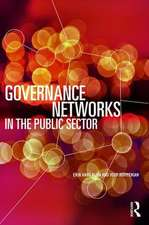 Governance Networks in the Public Sector