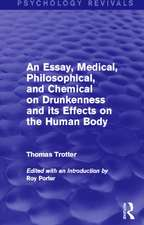 An Essay, Medical, Philosophical, and Chemical on Drunkenness and its Effects on the Human Body