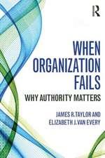 When Organization Fails