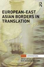 European-East Asian Borders in Translation