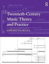 Twentieth-Century Music Theory and Practice