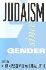 Judaism Since Gender