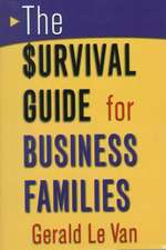The Survival Guide for Business Families