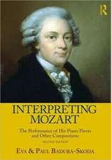 Interpreting Mozart