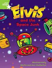 Rigby Star Gui Phonic Opportunity Readers Green: Elvis & The Space Junk Pupil Bk (Single)
