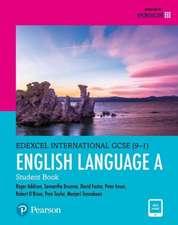 Edexcel International GCSE (9-1) English Language A Student Book: print and ebook bundle