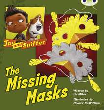 Jay and Sniffer: The Missing Masks (Blue C)
