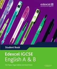 Edexcel International GCSE English A & B Student Book with ActiveBook CD