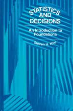 Statistics and Decisions