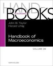 Handbook of Macroeconomics