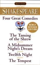 Four Great Comedies: Revised Edition