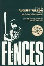 Fences:  A Play