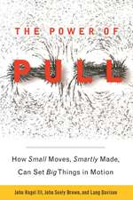 The Power of Pull: How Small Moves, Smartly Made, Can Set Big Things in Motion