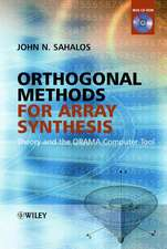 Orthogonal Methods for Array Synthesis: Theory and the ORAMA Computer Tool