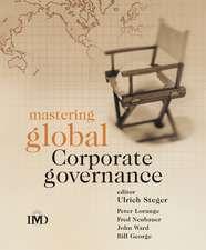 Mastering Global Corporate Governance