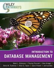 Introduction to Database Management:  A Practical User's Guide [With CDROM]