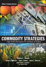 Commodity Strategies: High–Profit Techniques for Investors and Traders