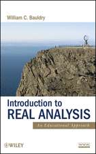 Introduction to Real Analysis: An Educational Approach