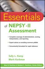 Essentials of NEPSY–II Assessment