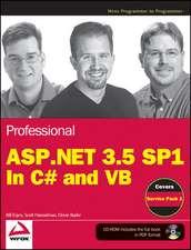 Professional ASP.NET 3.5 SP1 Edition
