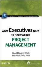 What Executives Need to Know About Project Management