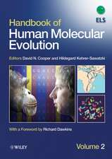 Handbook of Human Molecular Evolution: 2 Volume Set