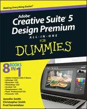 Adobe Creative Suite 5 Design Premium All–in–One For Dummies