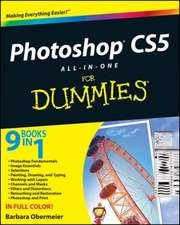 Photoshop CS5 All–in–One For Dummies