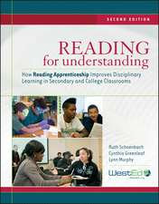 Reading for Understanding: How Reading Apprenticeship Improves Disciplinary Learning in Secondary and College Classrooms