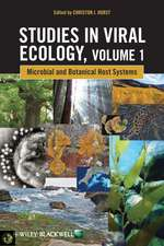 Studies in Viral Ecology: Microbial and Botanical Host Systems Volume 1