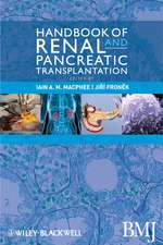 Handbook of Renal and Pancreatic Transplantation