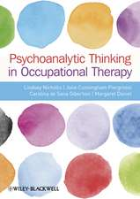 Psychoanalytic Thinking in Occupational Therapy: Symbolic, Relational and Transformative