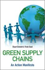 Green Supply Chains: An Action Manifesto