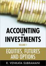 Accounting for Investments: Equities, Futures and Options