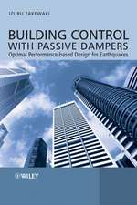 Building Control with Passive Dampers: Optimal Performance–based Design for Earthquakes