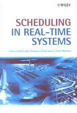 Scheduling in Real–Time Systems