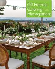 Off–Premise Catering Management