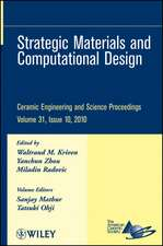 Strategic Materials and Computational Design