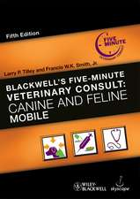 Blackwell′s Five–Minute Veterinary Consult: Canine and Feline Mobile